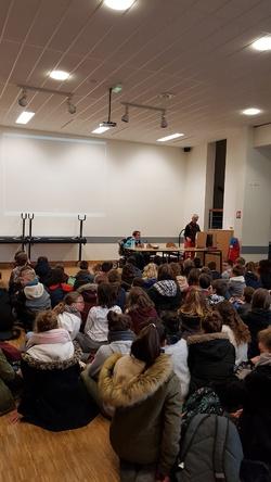 Témoignages  collège Paul Eluard de Gennes 29/11/18