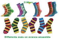 Journée chaussettes dépareillées
