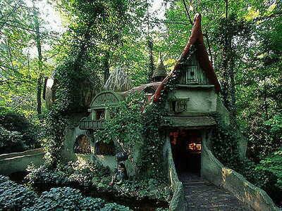 Maison sous bois