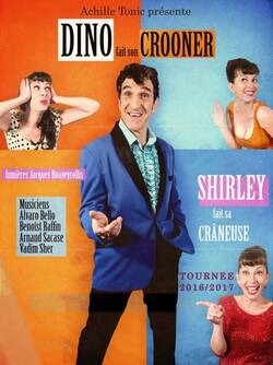 Dino fait son crooner, Shirley fait sa crâneuse à Perpignan 10/05/2016