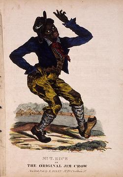 La réprésentation originale de Jim Crow