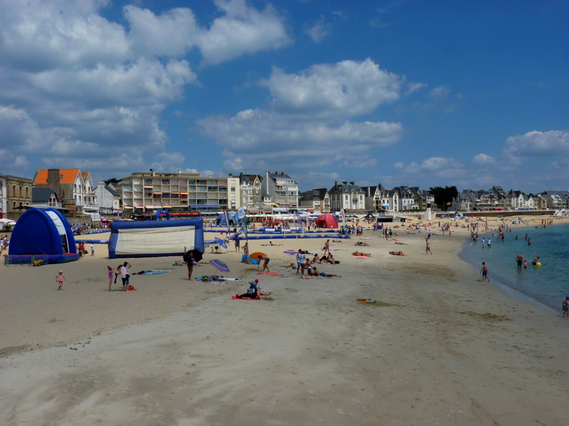 Quiberon bord de plage