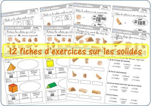 Exercices sur les solides