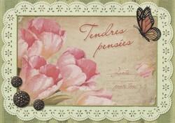 Ronde de cartes d'anniversaire chez Amélie 1976