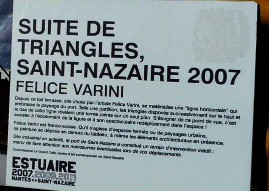 Port de Saint Nazaire, Triangles de Varini
