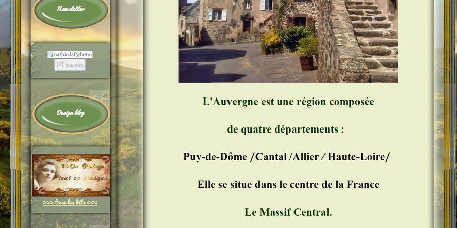 Mon Auvergne Natale