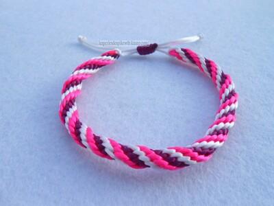 Bracelet Kumihimo Circulaire - 12 fils (1)