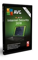 Avg Internet Security 2018 - Licence 1 an gratuit