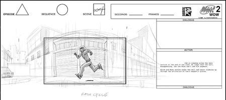 Storyboard Winx Club : World Of Winx 2