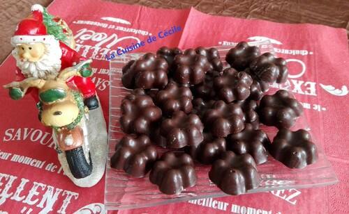 Petits chocolats pétillants