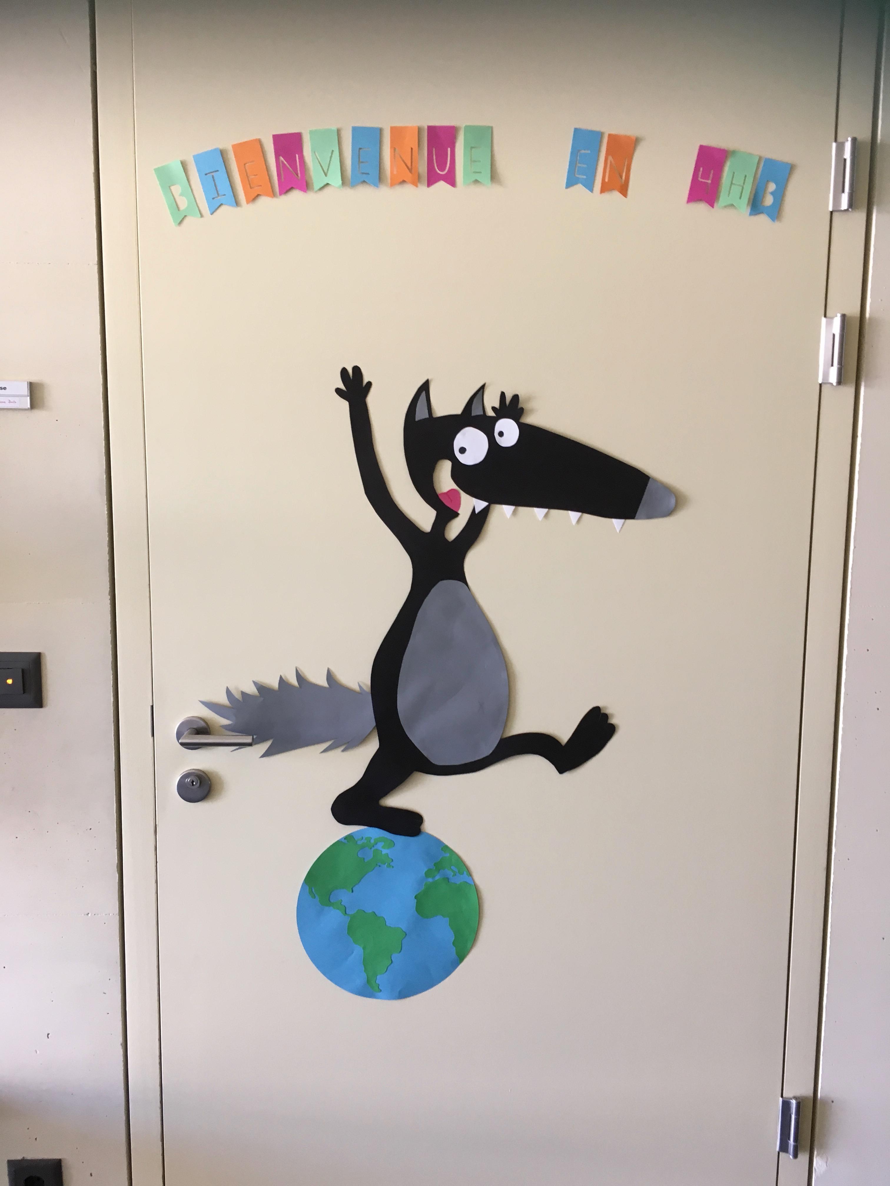 Décoration Pour Casier D École décoration / thème de classe - dans la classe de maikresse val