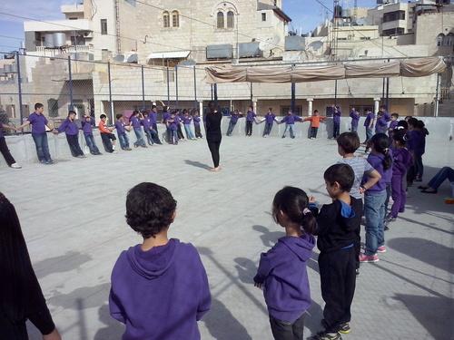 Les olympiades à l'école