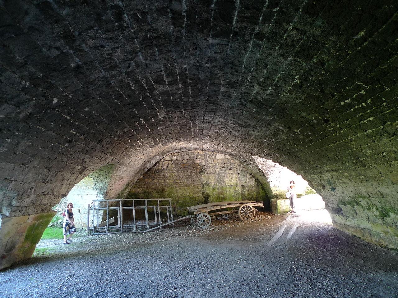 L'ancien débarcadère sous la grange batelière