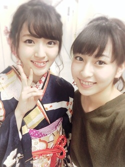 Apparitions d'Airi dans les blogs de Captain, Maa-chan et Akari