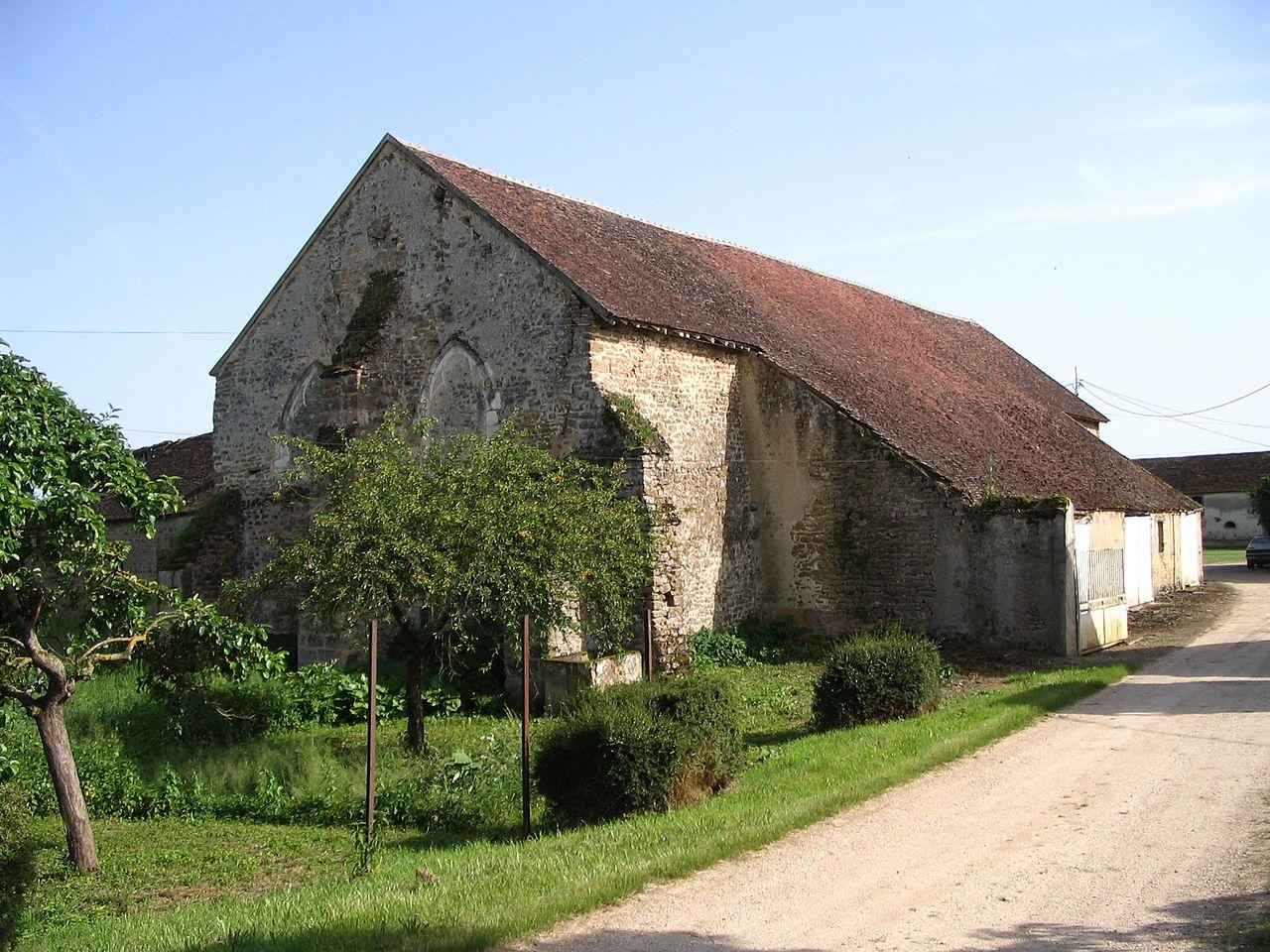 La grange de Crécy, ancienne dépendance de Pontigny
