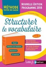Structurer le vocabulaire - cycle 3 - Documents
