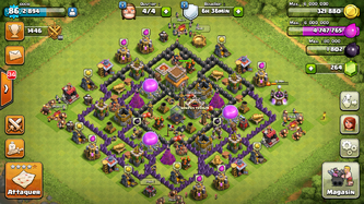 Clash of clans VS boom beach