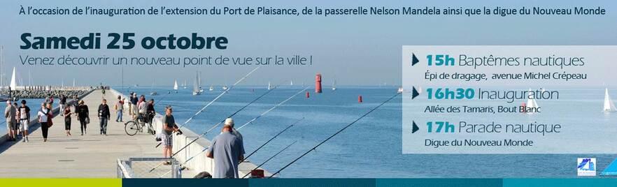 Voile-aviron à la parade de l'inauguration du Port des Minimes de La Rochelle