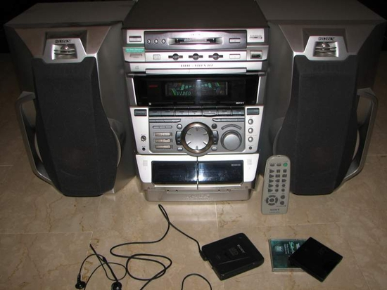 Chaine Compacte Sony Dhc Mdx10 Oldies But Goldies