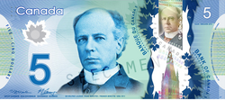 The Canadian currency