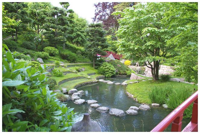 Jardin japonais traditionnel   Trouver des idées pour voyager en Asie