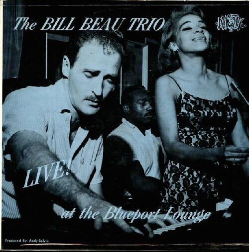 THE BILL BEAU TRIO Gee Kay ‎– GK-1001 (Late 1950's~Early 1960)