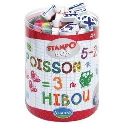 Stampo box chiffres et lettres