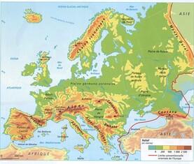 L'Europe cm1 cm2