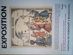&: Expo temporaire au Musée de la Poupée de Wambrechies : ces couvertures de cahiers comme œuvres d'art !