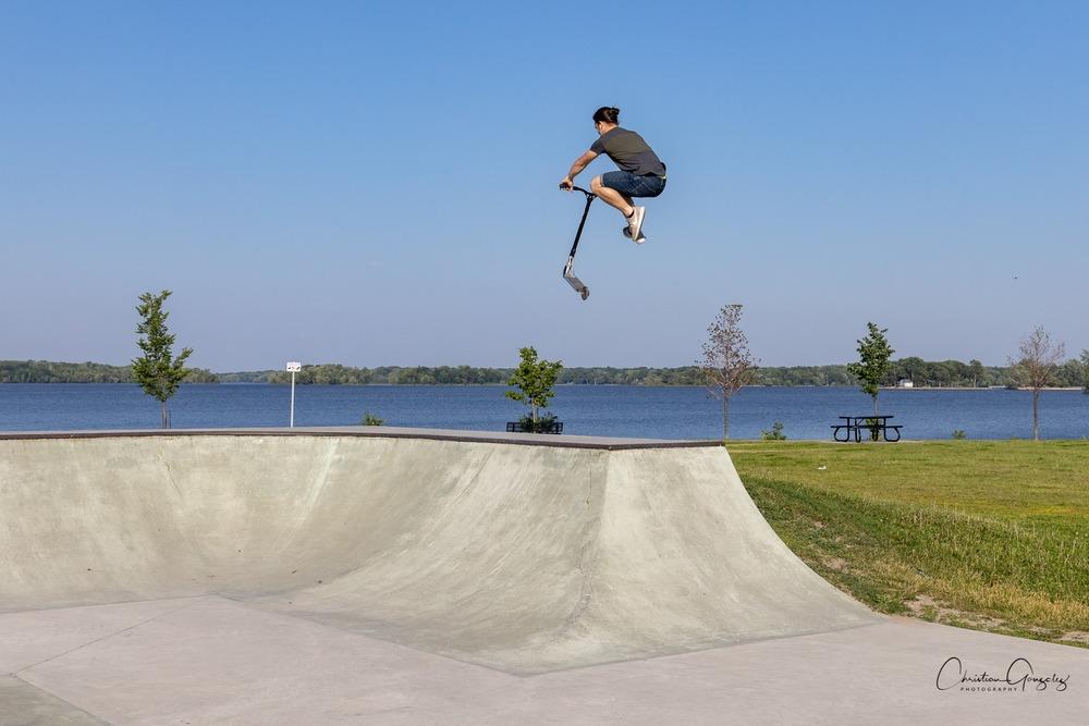 Au skatepark