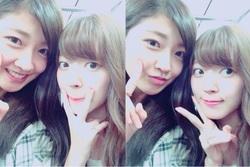 Airi dans le blog de Yurina KUMAI