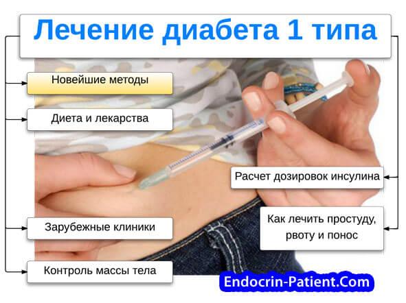 Можно ли вылечить 1 тип диабета