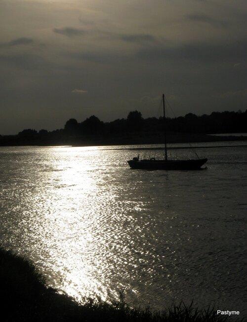 Gabare à Chaumont surt Loire