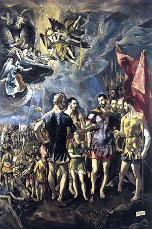 Saint Maurice et ses compagnons de la légion thébéenne, militaires romains martyrisés à Auganuum († v. 287)