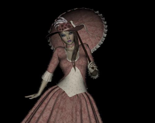 TUBES FEMMES 3D