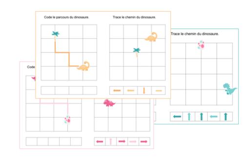 Coder et tracer des déplacements