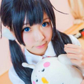10 icons cosplay anime girl
