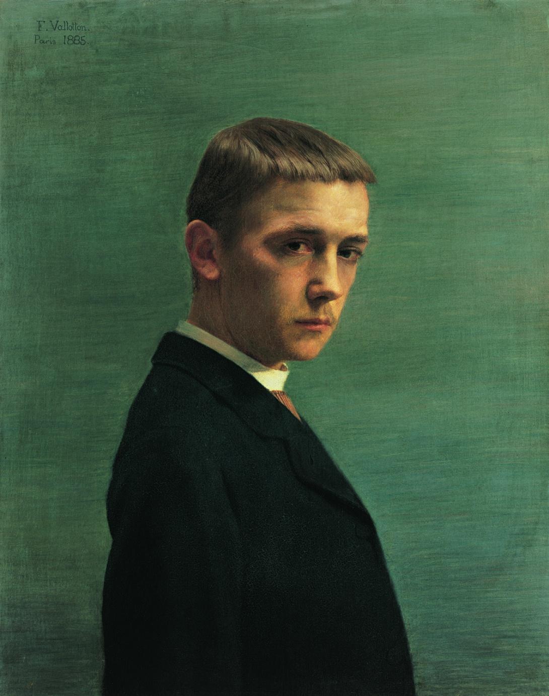 Vallotton /1/ portraitiste de talent. - Maîtres et tableaux I