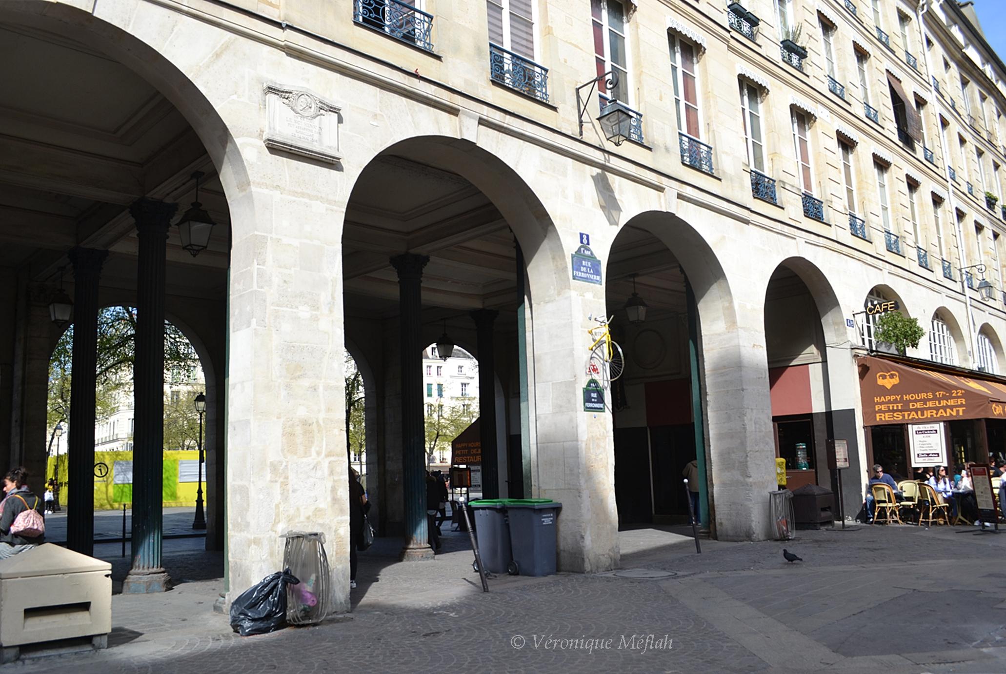 29 Rue De La Ferronnerie un 14 mai 1610, rue de la ferronnerie ( quartier les halles