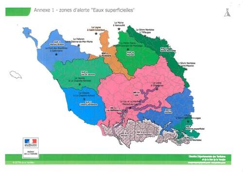 Premières alertes à la sécheresse en Vendée