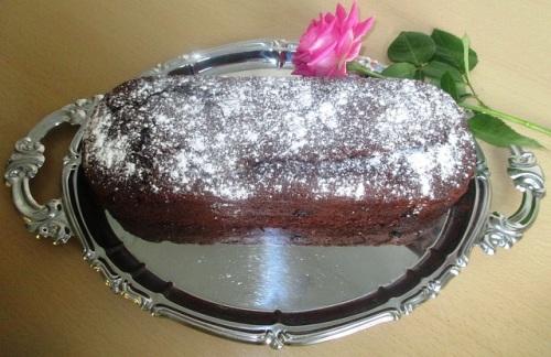 Gâteau chocolat et patate douce