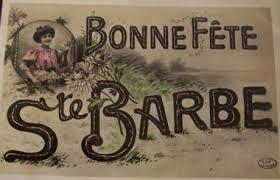 Dictons de la Ste Barbe + grille prénom ! - Flânerie au Fil des Saisons