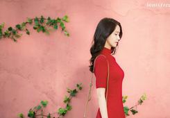 """Deux nouvelles photos de Yoona pour la marque """"Innisfree"""" sont apparus sur le Weibo de la marque :"""