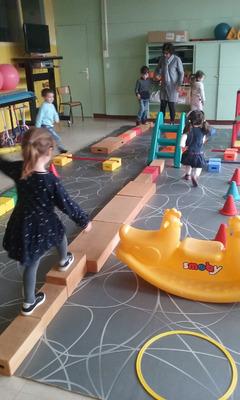Construire un parcours en motricité (MS)