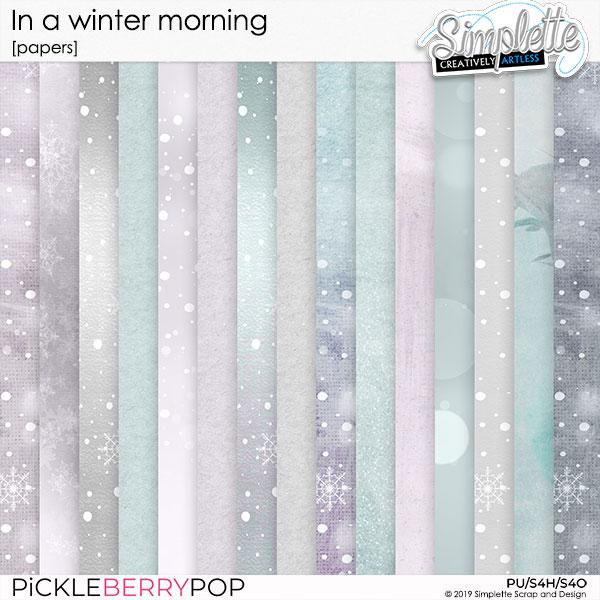7 janvier 2020 : in a winter morning Simpl598