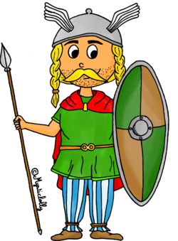 L'Histoire en dessins - L'Antiquité : le gaulois