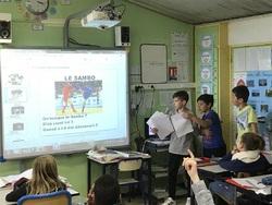 Coup d'oeil sur les exposés de classe