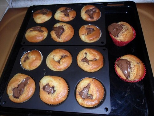*** Muffins au nutella ***