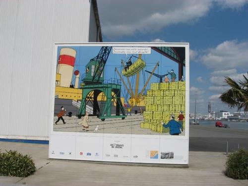 Vignettes Tintin - Saint Nazaire