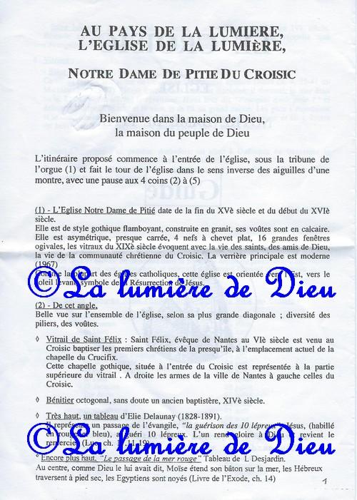 Le Croisic, l'église Notre-Dame de Pitié
